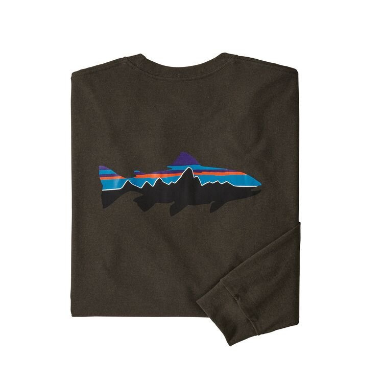 Patagonia M's Long-Sleeved Fitz Roy Trout Responsibili-Tee®