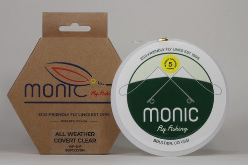 Monic All Weather Covert Clear Fly Line