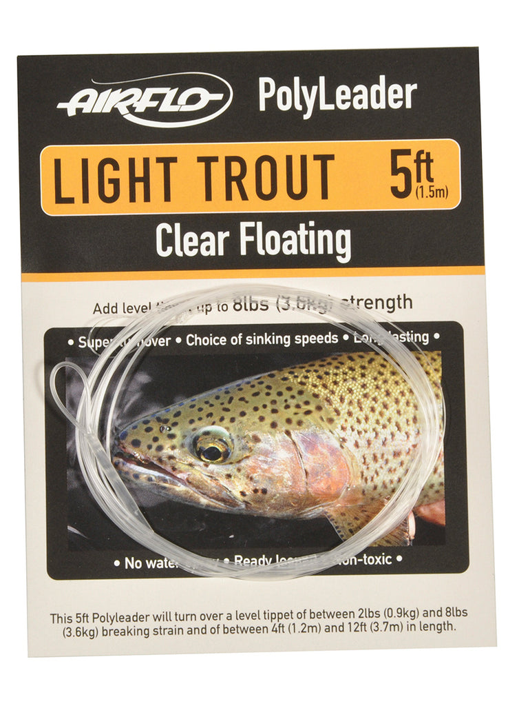 AirFlo Poly Leader- Light Trout