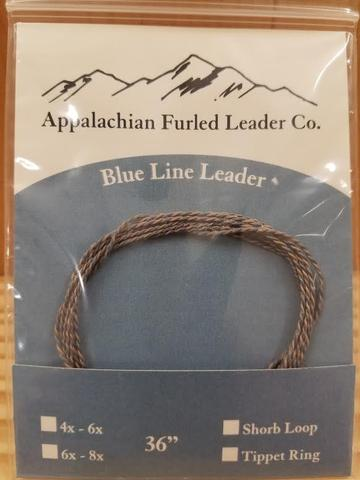 Appalachian Furled Leader Co.- Blue Line leader