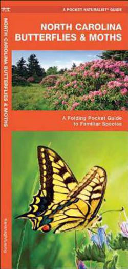North Carolina Butterflies and Moths pocket guide