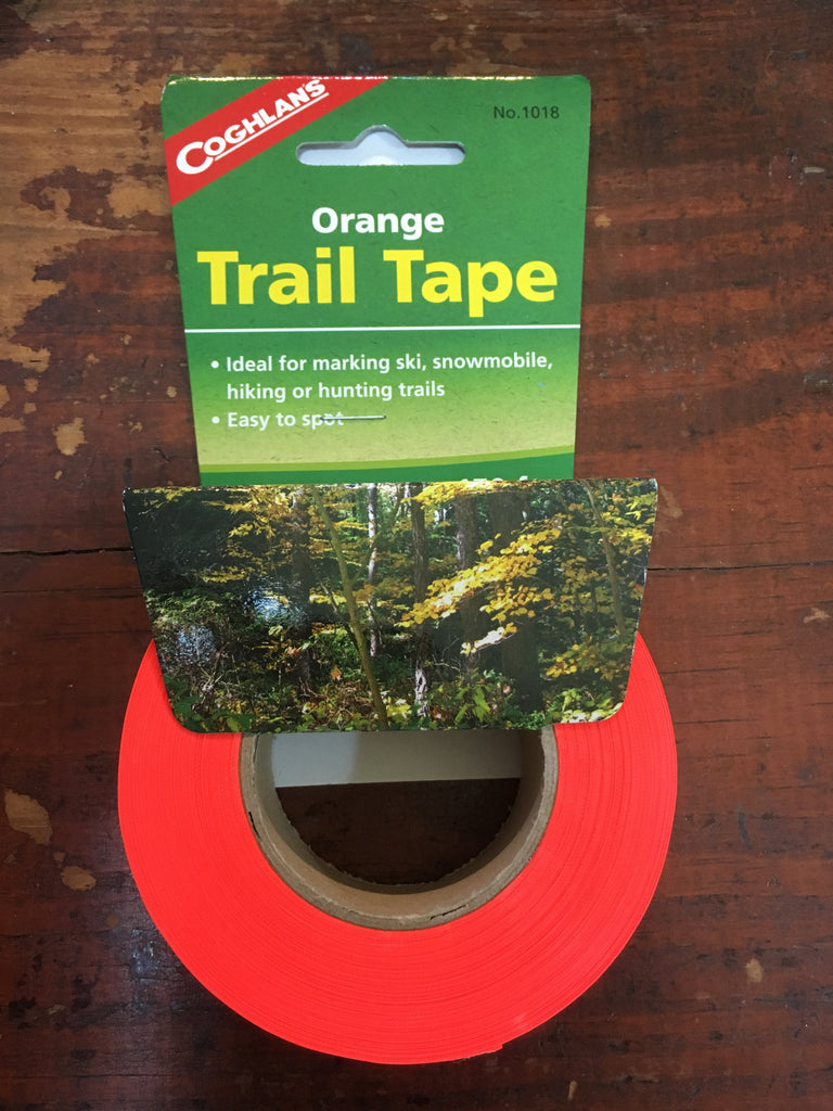 Orange Trail Tape