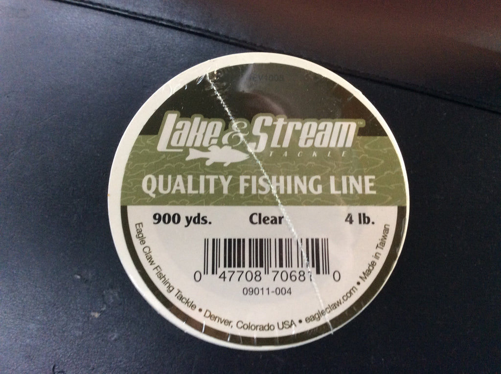 Lake and stream 4lb fishing line