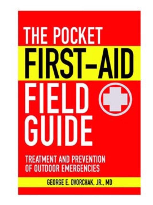 Pocket 1st aid field guide