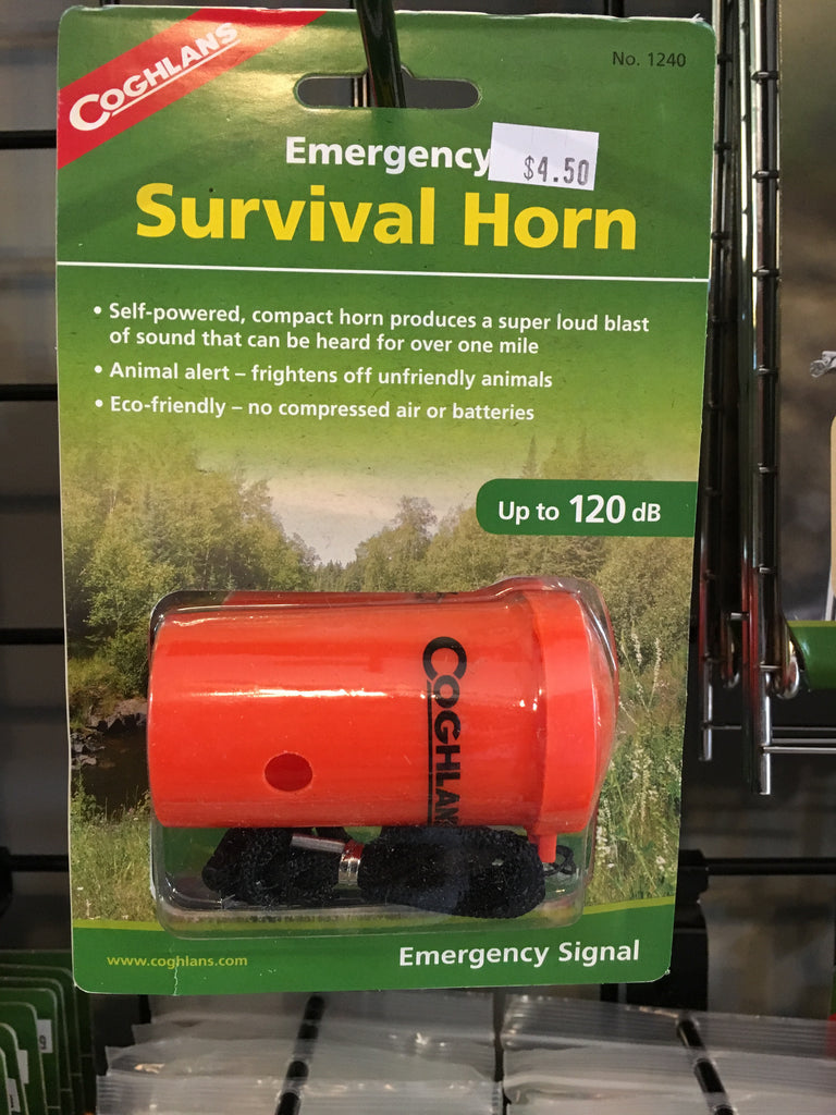 Emergency survival horn