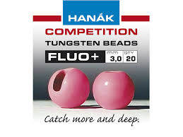 Hanak FLOU+ slotted tungsten bead