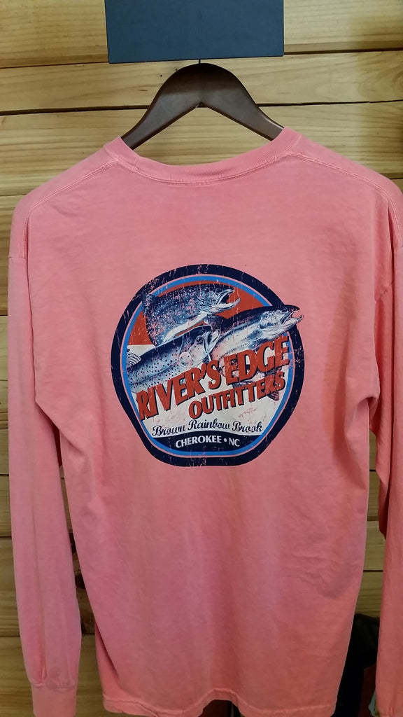 Rivers Edge Outfitters Airborne Trout Shirt