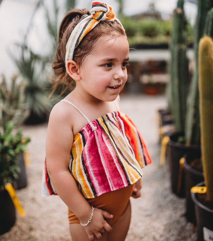 Sweet Skye Retro Knot Headband or Georgia Crop - Sedona