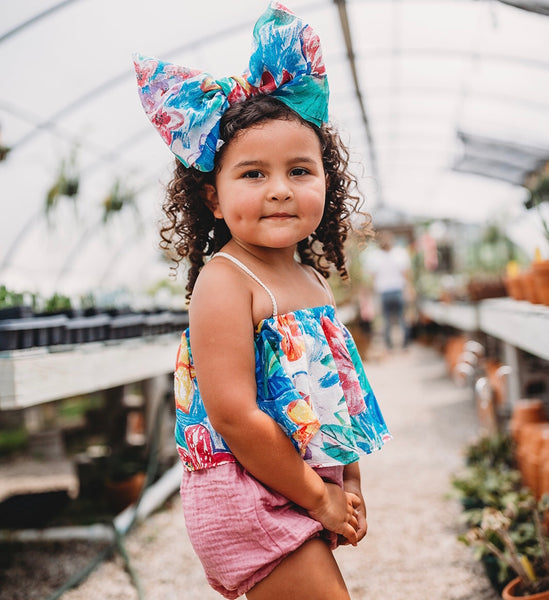 Sweet Skye Floral Headband or Georgia Crop - Miami