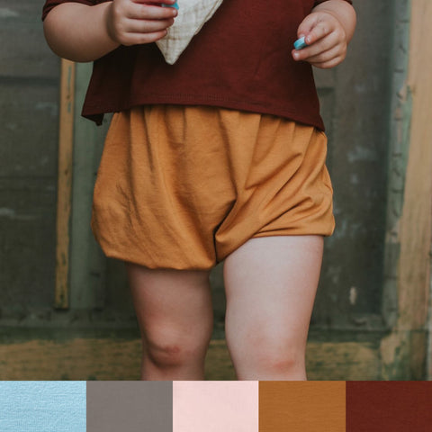 Fallon Bamboo High Waist Shorts - Various Colors