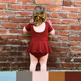 Bamboo Maeve Peplum Playsuit - Various Colors