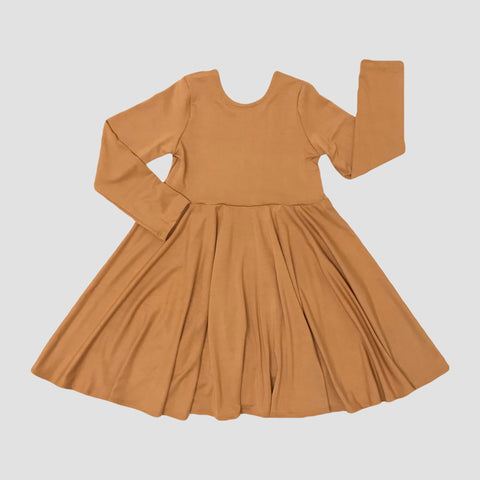BAMBOO SEPIA - PLAYSUIT - TWIRL DRESS - NORA MAXI