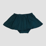 Bamboo High Waist Ruffle Shorties - Peacock