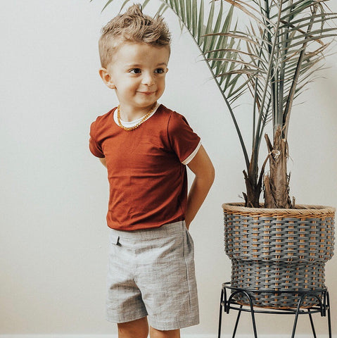 Scout Shorts - Chambray Linen
