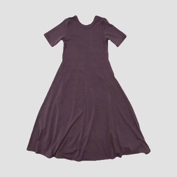 NORA MAXI DRESS - DUSTY PLUM