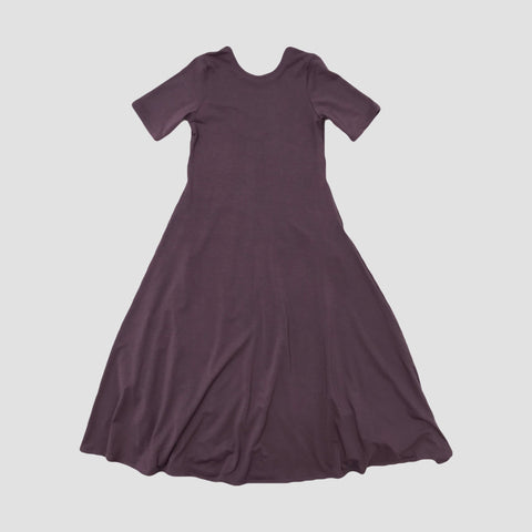 BAMBOO NORA MAXI DRESS - DUSTY PLUM