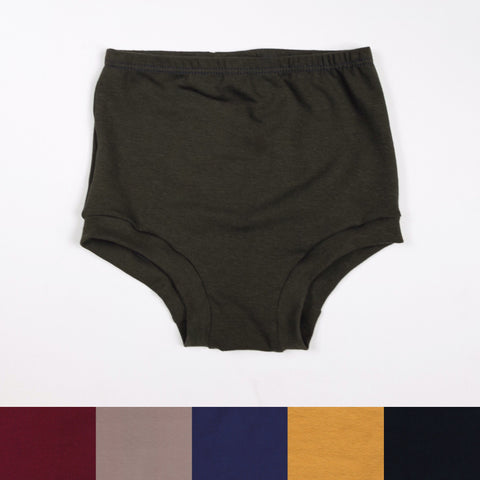 HIGH WAISTED SHORTIES - VARIOUS COLORS