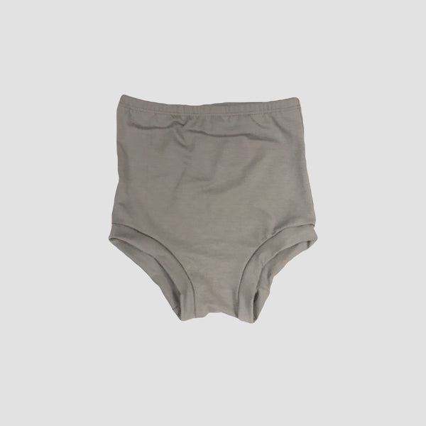 Bamboo High Waist Shorties - Stone