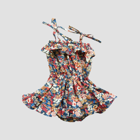 Wren Skirted Playsuit - Liberty Thorpe