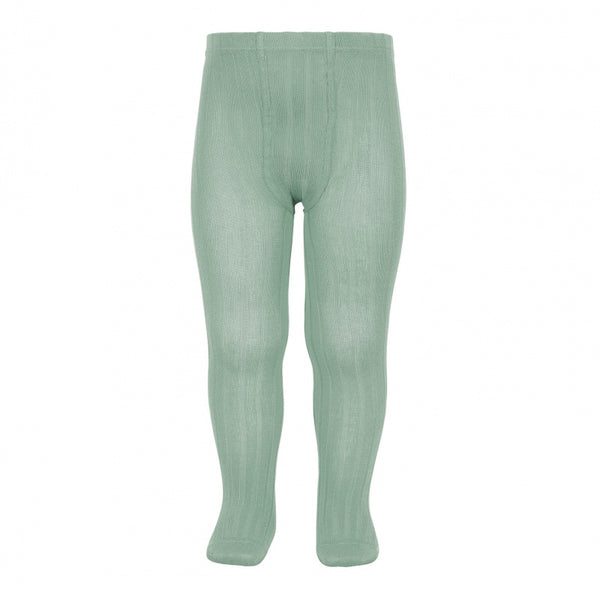 WIDE RIB TIGHTS - JADE