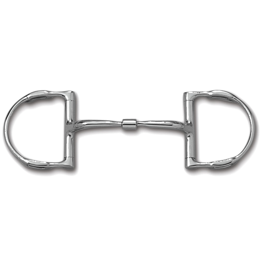 DEE WITH HOOKS WITH STAINLESS STEEL COMFORT SNAFFLE