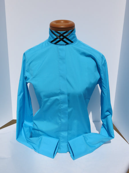 TURQUOISE HUNT BLOUSE