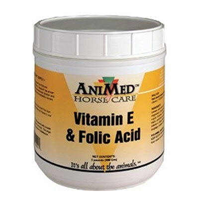 Vitamin E & Folic Acid