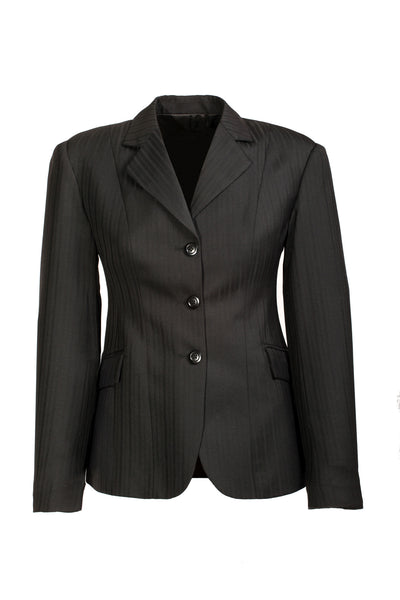 Show Jacket - Black Pin Stripe