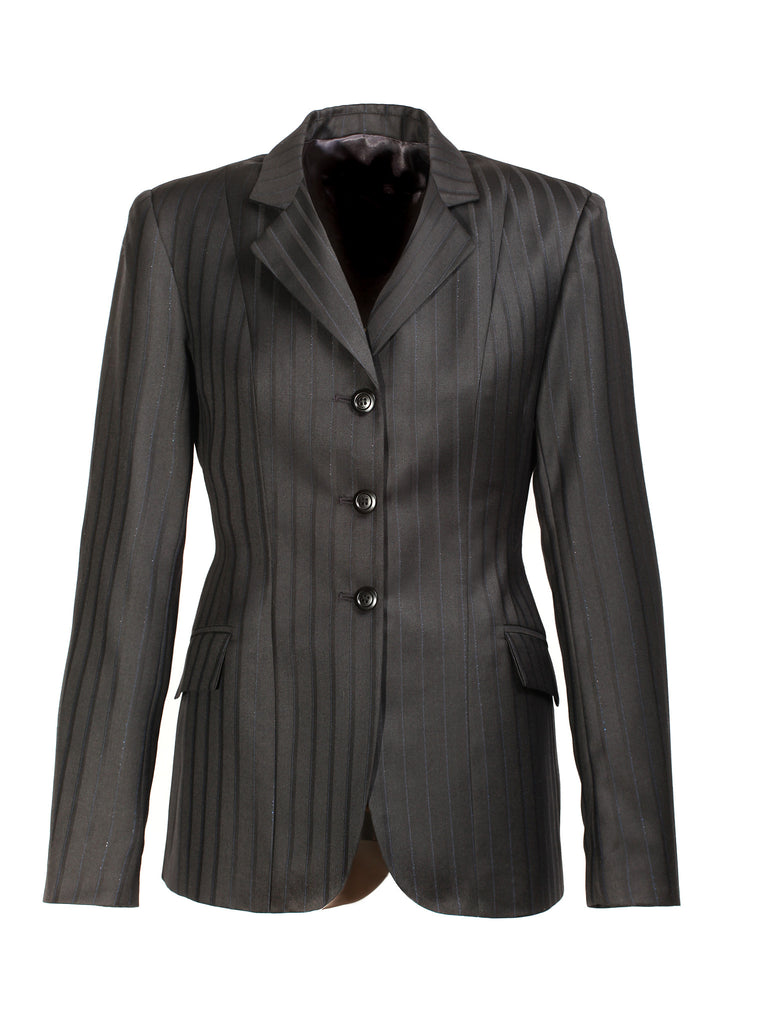 Show Jacket - Navy Thick Pinstripe