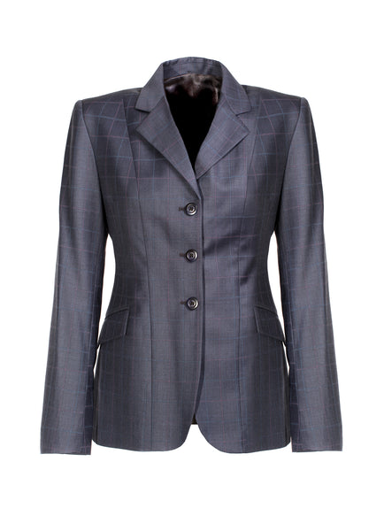 Show Jacket - Navy Windowpane
