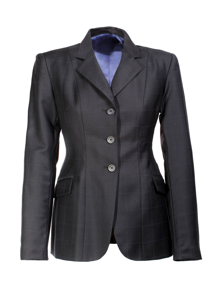Show Jacket - Large Navy Windowpane