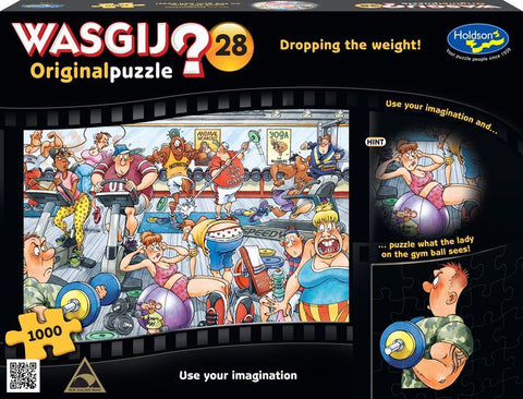Wasjig 28 1000pc - Drop Weight