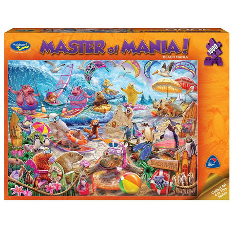 Masters of Mania 1000pc Puzzle - Beach Mania