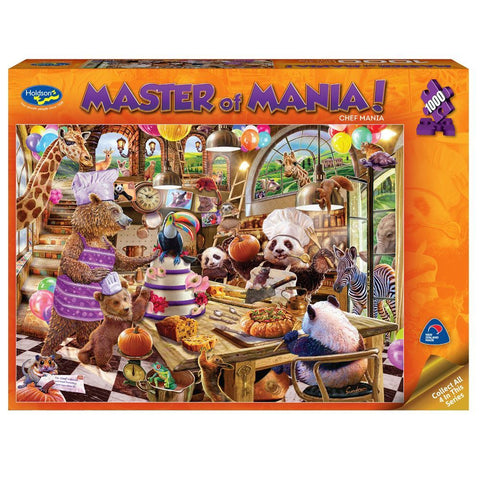 Masters of Mania 1000pc Puzzle - Chef Mania