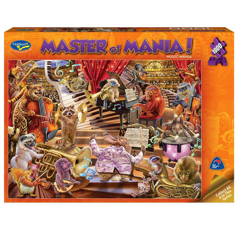 Masters of Mania 1000pc Puzzle - Music Mania