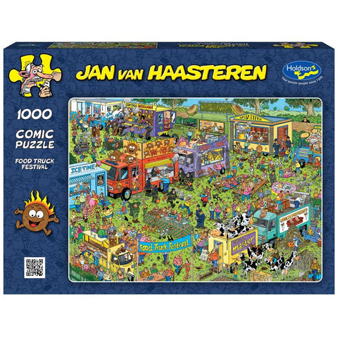 Jan Van Haasteren 1000pc  - Food Truck Festival