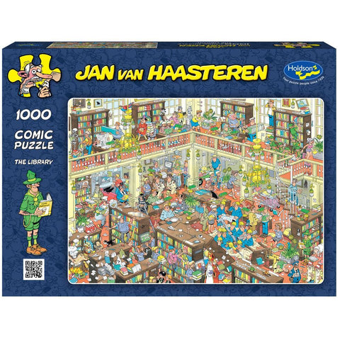 Jan Van Haasteren 1000pc  -The Library