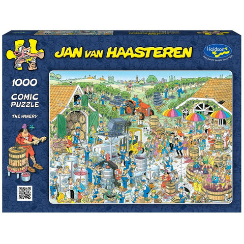 Jan Van Haasteren 1000pc - The Winery