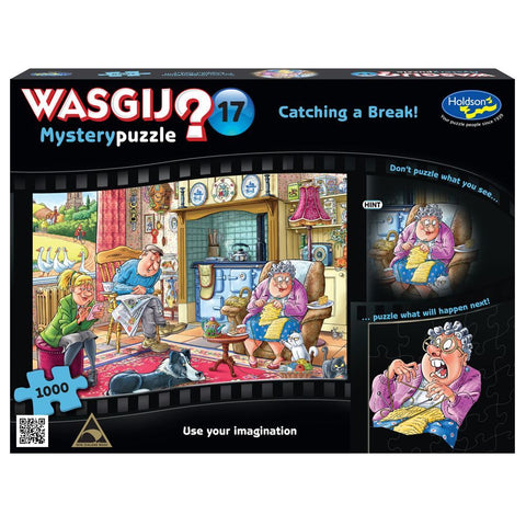 Wasgij Myst 17 - Catching a Break