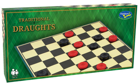 Draughts Boxed Game - Traditional
