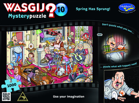 Wasgij Wasgij #10 - Mystery 1000 Piece Puzzle 09533h