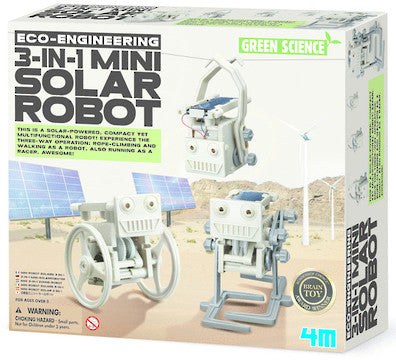 4M 3 In 1 Mini Solar Robot 103377