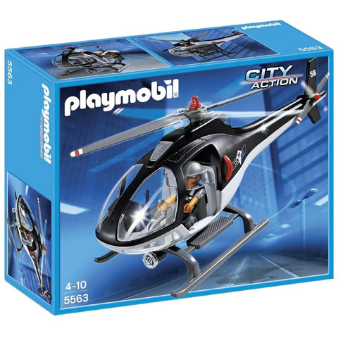 Playmobil Tactical Unit Helicoper 5563