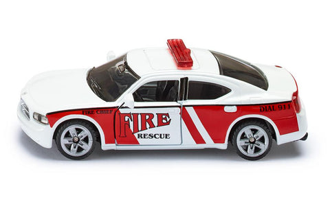 Siku Dodge Charger US Fire Rescue Command Car sku1468
