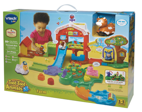 Toot-Toot Animal Farm Playset