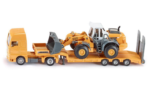 Siku Low Loader with 4 Wheel Loader sku1839