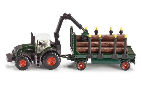 Siku Fendt 939 with Forestry Trailer sku1861