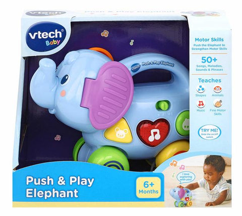 Push and Play Elephant