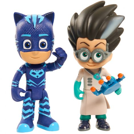 PJ Masks Light-up 2x piece Figure Pack - Catboy & Romeo