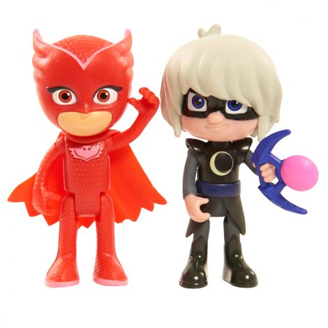 PJ Masks Light-up 2x pc Figure Pack - Owlette & Luna Girl